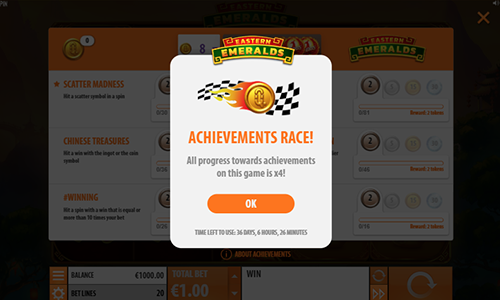 New Achievements Engine From Quickspin